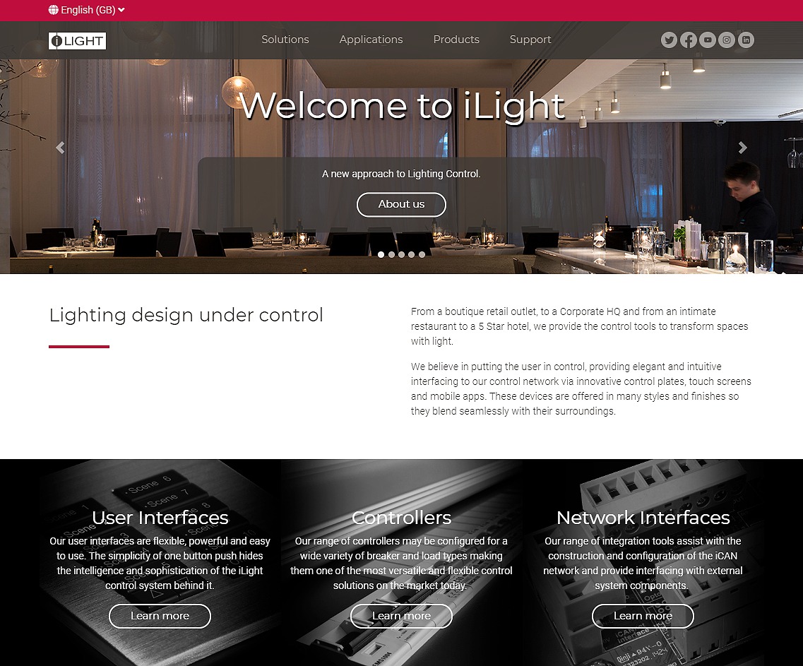 Ilight New Website 800px